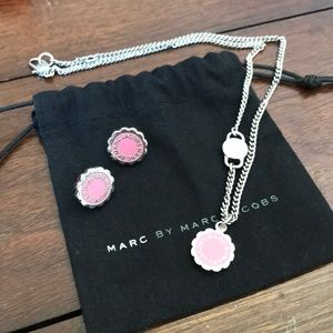 Marc by Marc Jacobs Necklace and Matching Earrings